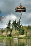 διασκέδαση που το ολλανδικό πάρκο στοκ εικόνα