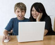 διασκέδαση υπολογιστώ&nu στοκ εικόνα με δικαίωμα ελεύθερης χρήσης