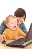 διασκέδαση υπολογιστώ&nu Στοκ Εικόνα