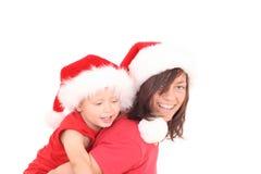 διασκέδαση Χριστουγέννων Στοκ φωτογραφία με δικαίωμα ελεύθερης χρήσης