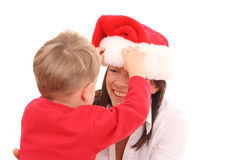 διασκέδαση Χριστουγέννων Στοκ φωτογραφίες με δικαίωμα ελεύθερης χρήσης