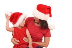 διασκέδαση Χριστουγένν&omega Στοκ Εικόνα
