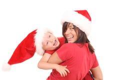 διασκέδαση Χριστουγένν&omega Στοκ Εικόνες