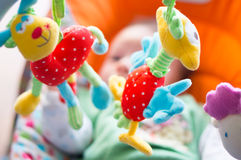Διασκέδαση και παιχνίδια μωρών Στοκ εικόνα με δικαίωμα ελεύθερης χρήσης
