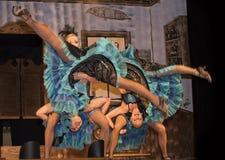 Διασκέδαση κοριτσιών Dancehall Στοκ Εικόνα