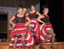 Διασκέδαση κοριτσιών Dancehall Στοκ εικόνες με δικαίωμα ελεύθερης χρήσης