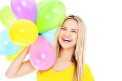 Διασκέδαση μπαλονιών Στοκ Εικόνες