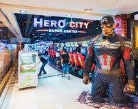 Διασκέδαση arcade στο εμπορικό κέντρο MBK, Μπανγκόκ Στοκ φωτογραφία με δικαίωμα ελεύθερης χρήσης
