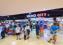 Διασκέδαση arcade στο εμπορικό κέντρο MBK, πόλη της Μπανγκόκ Στοκ φωτογραφία με δικαίωμα ελεύθερης χρήσης