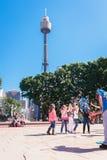 Διασκεδαστής οδών στο Σίδνεϊ, Αυστραλία, τον Απρίλιο του 2012 Στοκ φωτογραφίες με δικαίωμα ελεύθερης χρήσης
