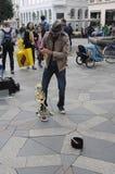 Διασκεδαστής οδών Στοκ φωτογραφία με δικαίωμα ελεύθερης χρήσης