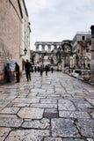 Διασπασμένη παλαιά πόλη ` s, ΔΙΆΣΠΑΣΗ, ΚΡΟΑΤΊΑ στοκ εικόνες