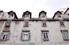 Διασπασμένη παλαιά πόλη ` s, ΔΙΆΣΠΑΣΗ, ΚΡΟΑΤΊΑ στοκ φωτογραφία