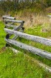 Διασπασμένος φράκτης ραγών του Ντάλλας Στοκ Φωτογραφίες