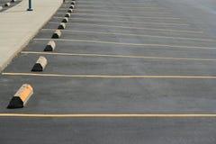 διαστήματα χώρων στάθμευσης Στοκ εικόνες με δικαίωμα ελεύθερης χρήσης
