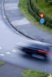 διασταύρωση κυκλικής κυκλοφορίας Στοκ εικόνα με δικαίωμα ελεύθερης χρήσης
