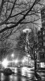 Διαστημική βελόνα του Σιάτλ σε μια χειμερινή νύχτα Στοκ φωτογραφία με δικαίωμα ελεύθερης χρήσης