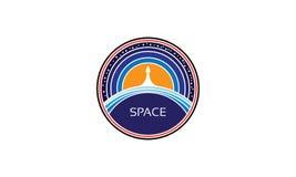 Διαστημική διανυσματική εικόνα απεικόνιση αποθεμάτων