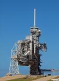 Διαστημική εξέδρα εκτόξευσης πυραύλων σαϊτών Στοκ φωτογραφία με δικαίωμα ελεύθερης χρήσης