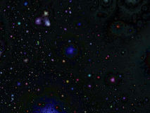Διαστημική εποχιακή ανασκόπηση αστεριών στοκ φωτογραφία με δικαίωμα ελεύθερης χρήσης