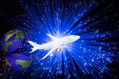 Διαστημική πτήση Απεικόνιση αποθεμάτων