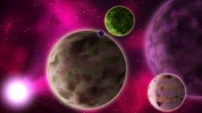 Διαστημική σκηνή φαντασίας seamless απεικόνιση αποθεμάτων