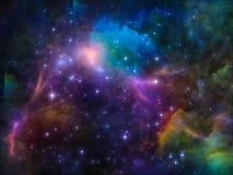 Διαστημική σύνθεση διανυσματική απεικόνιση