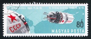 Διαστημική τέχνη Στοκ εικόνες με δικαίωμα ελεύθερης χρήσης
