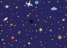 Διαστημική ταπετσαρία Στοκ φωτογραφία με δικαίωμα ελεύθερης χρήσης