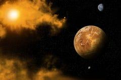 διαστημική όψη Στοκ Εικόνα