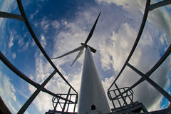 διαστημικός αέρας ισχύος Στοκ Εικόνα