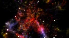 Διαστημικός βρόχος ταξιδιού διανυσματική απεικόνιση