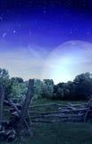 διαστημικός ξύλινος Στοκ Φωτογραφίες