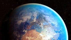 Διαστημικός πλανήτης Γη Στοκ εικόνα με δικαίωμα ελεύθερης χρήσης
