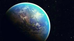 Διαστημικός πλανήτης Γη Στοκ Φωτογραφίες