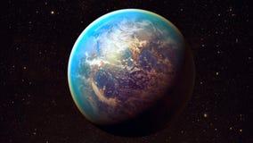 Διαστημικός πλανήτης Γη Στοκ φωτογραφίες με δικαίωμα ελεύθερης χρήσης