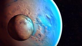 Διαστημικός πλανήτης Στοκ Φωτογραφίες