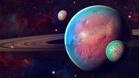 Διαστημικός πλανήτης Στοκ Εικόνα