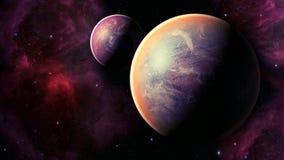 Διαστημικός πλανήτης Στοκ φωτογραφία με δικαίωμα ελεύθερης χρήσης