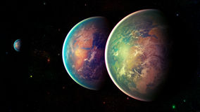 Διαστημικός πλανήτης Στοκ φωτογραφίες με δικαίωμα ελεύθερης χρήσης