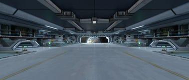 Διαστημικός σταθμός στοκ εικόνα με δικαίωμα ελεύθερης χρήσης