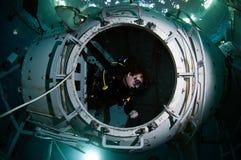 Διαστημικός δύτης σκαφάνδρων Στοκ φωτογραφία με δικαίωμα ελεύθερης χρήσης