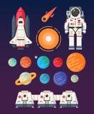 Διαστημικό αντίγραφο διανυσματική απεικόνιση