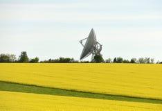Διαστημικό κέντρο επικοινωνιών Στοκ φωτογραφία με δικαίωμα ελεύθερης χρήσης