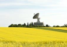 Διαστημικό κέντρο επικοινωνιών Στοκ φωτογραφίες με δικαίωμα ελεύθερης χρήσης