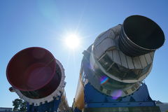 Διαστημικό κέντρο χ-ΙΙ Tsukuba όχημα έναρξης Στοκ φωτογραφίες με δικαίωμα ελεύθερης χρήσης