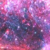Διαστημικό νεφέλωμα αστεριών ελεύθερη απεικόνιση δικαιώματος