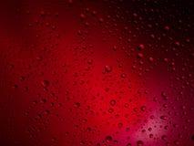 Διαστημικό ουράνιο τόξο γυαλιού βροχής υποβάθρου χρώματος πτώσεων νερού Στοκ εικόνες με δικαίωμα ελεύθερης χρήσης