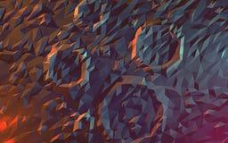 Διαστημικό σεληνιακό υπόβαθρο Στοκ Εικόνες