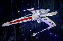 Διαστημικό σκάφος του Star Wars Lego Στοκ εικόνα με δικαίωμα ελεύθερης χρήσης